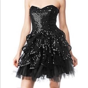 Betsey Johnson Dahlia Dress - Black - Size 4